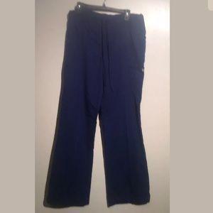 Greys Anatomy Women Scrub Pants Royal Blue  Small
